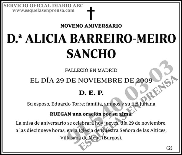 Alicia Barreiro-Meiro Sancho